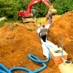 Upgrade drain field, sewer line or pipes.