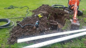 Abbotsford Residental Sewer Line